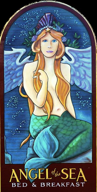 Angel of the Sea, Cape May NJ - Logo